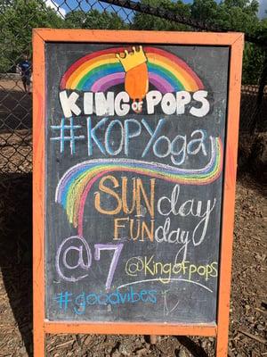 kopyoga chalkboard 2019